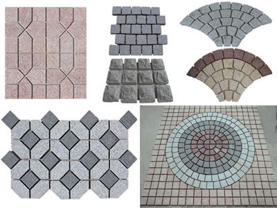 Pavers on mesh