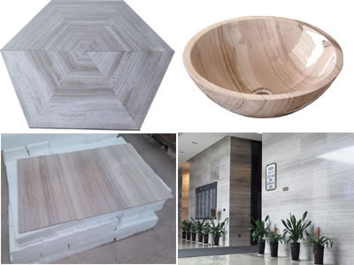 Wooden marble series