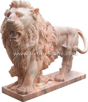 Marble animal carvings,,C942