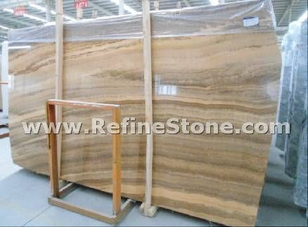 Royal wooden marble slab