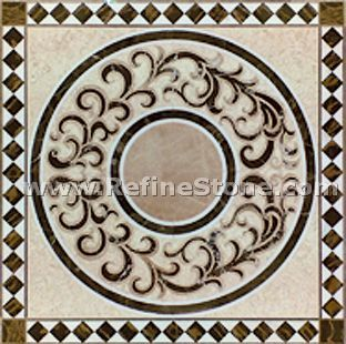 Waterjet inlay patterns or medallion,,C3487