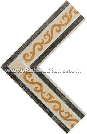 Waterjet inlay patterns or medallion,,C3470