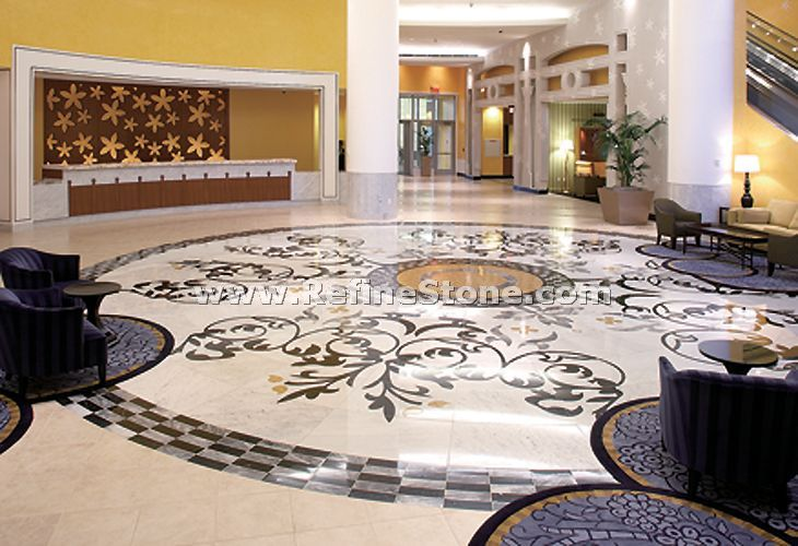 Waterjet inlay patterns or medallion,,C3462