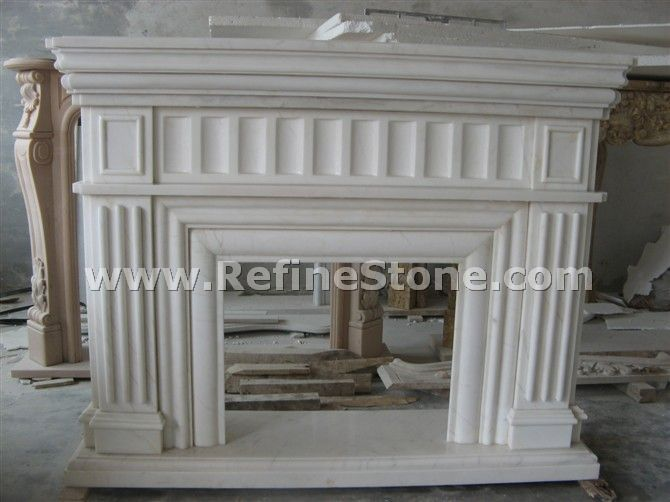 Interior fireplace