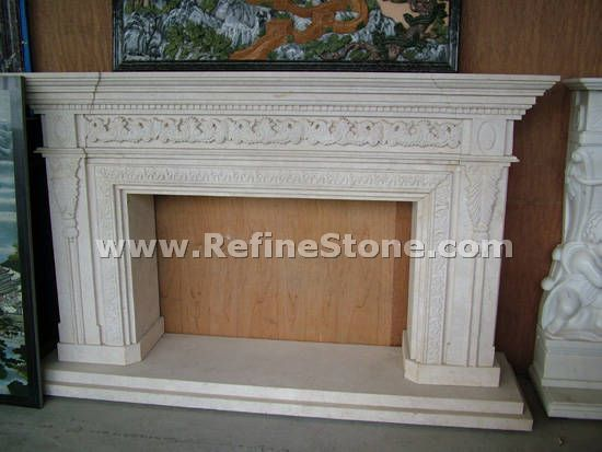 Exquisite fireplace