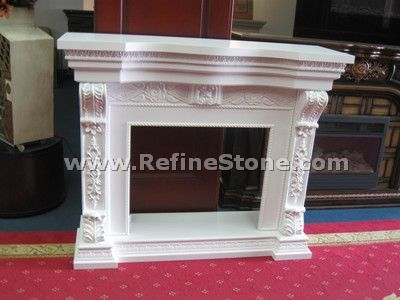 Carved fireplace and fireplace surrounds,Beautiful fireplace,C4638