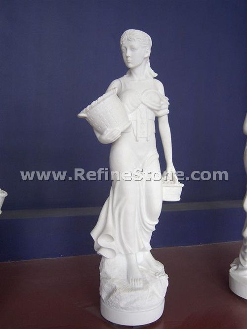 Young women marble sculpture factory sale