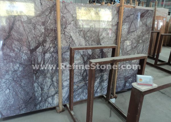 italy lilac purple marble