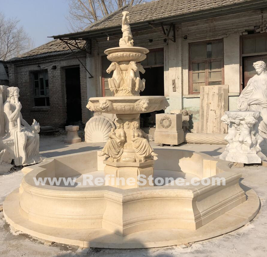Water fountain,Natural Marble Stone fountain,C5166